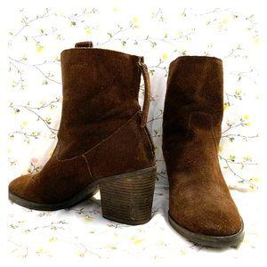 Sam Edelman Brown  leather booties